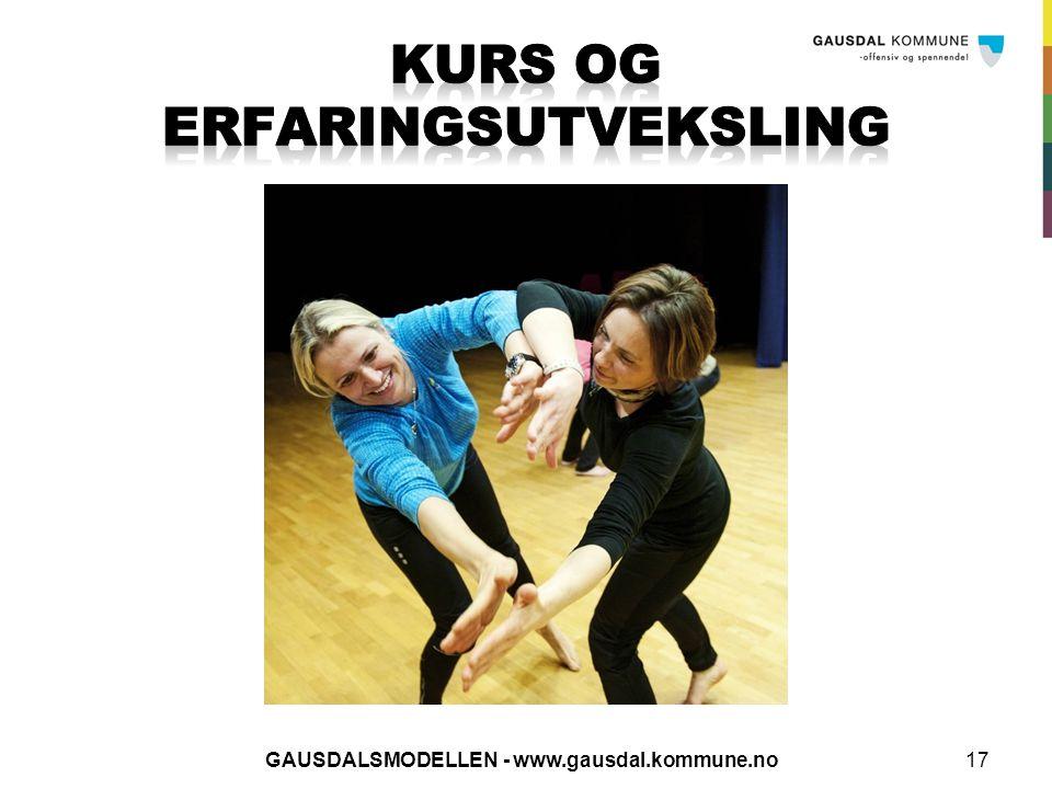 GAUSDALSMODELLEN - www.gausdal.kommune.no17