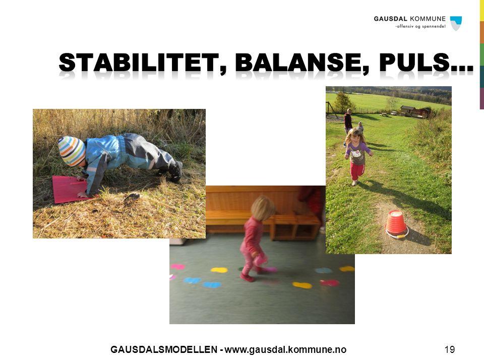 GAUSDALSMODELLEN - www.gausdal.kommune.no19