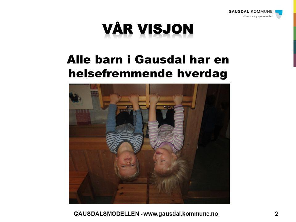Klar for konsultasjon Planlegge med Bhg og invitere Informasjon fra foresatte Observasjon og kartlegging 13GAUSDALSMODELLEN - www.gausdal.kommune.no