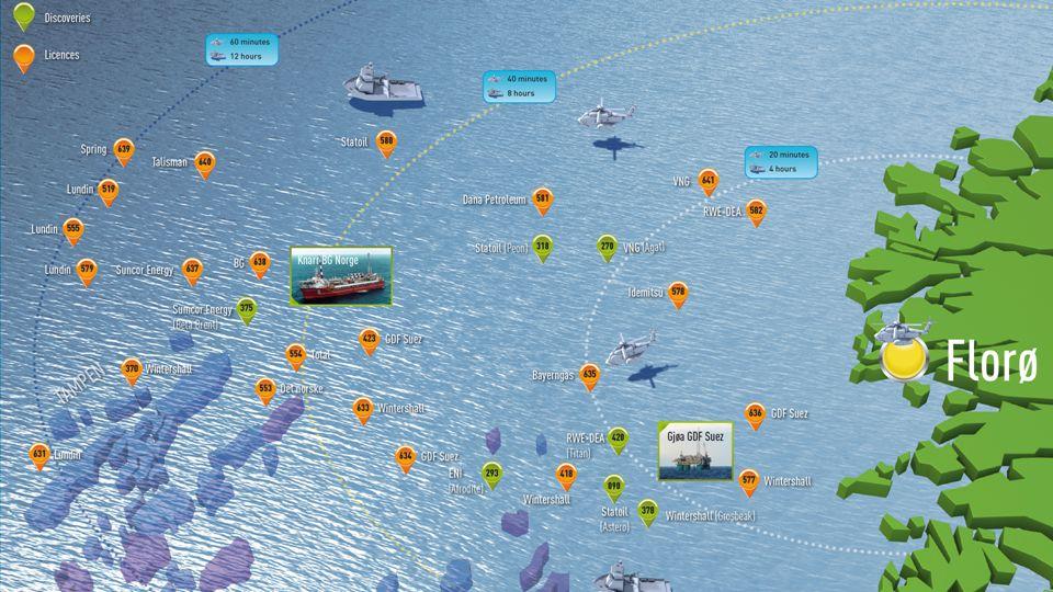 Statoil Flere rigger, økt boreaktivitet Valemon bygges ut 4 fast track utbygginger i vårt område Snorre 2040 Peon Astero Griper muligheter – skaper ve