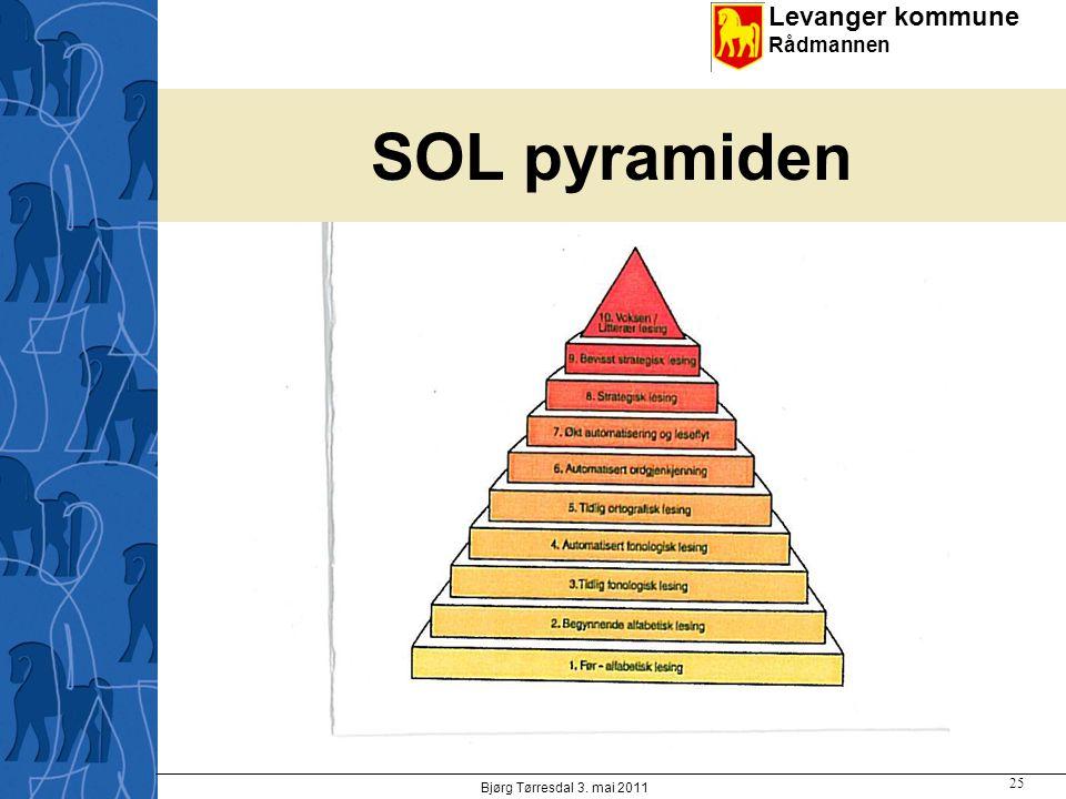 Levanger kommune Rådmannen SOL pyramiden Bjørg Tørresdal 3. mai 2011 25