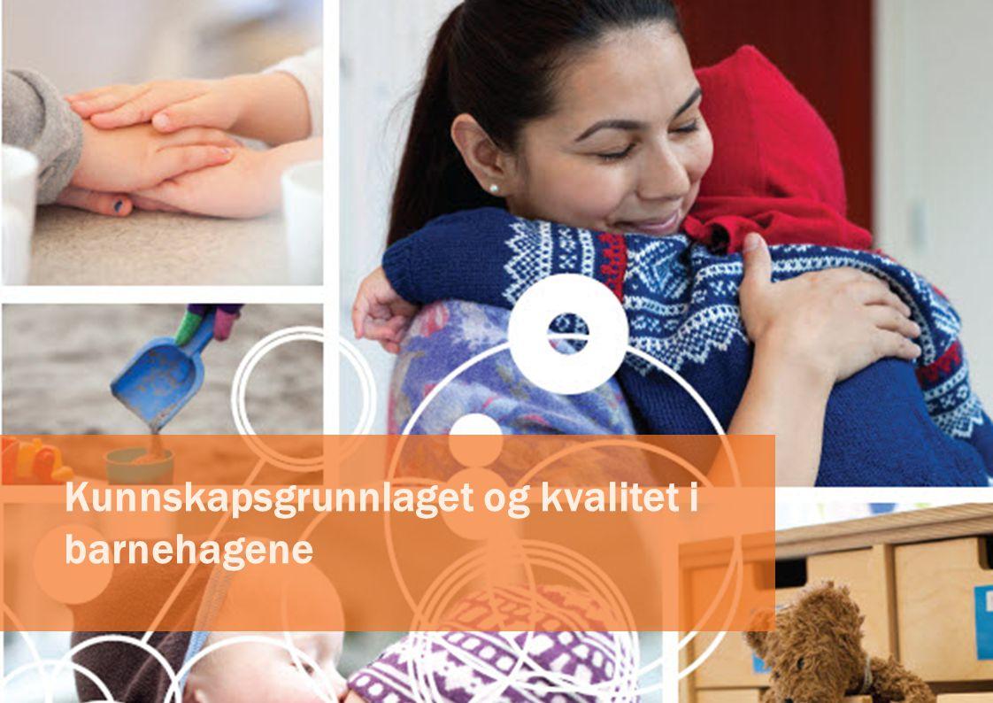 System for kvalitet i barnehagene Formålet med systemet er å følge med på kvaliteten i barnehagesektoren og identifisere områder hvor kvaliteten kan forbedres.