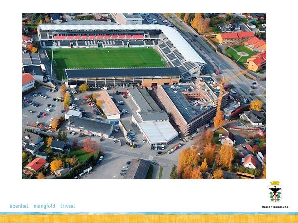 Sportsselskapene Hamar sportsselskap Børstad Idrettspark – ligger i økoplanen – Ligger penger i oppgjøret Hamar stadion(?) Briskeby Gressbane – driftsutfordringer.