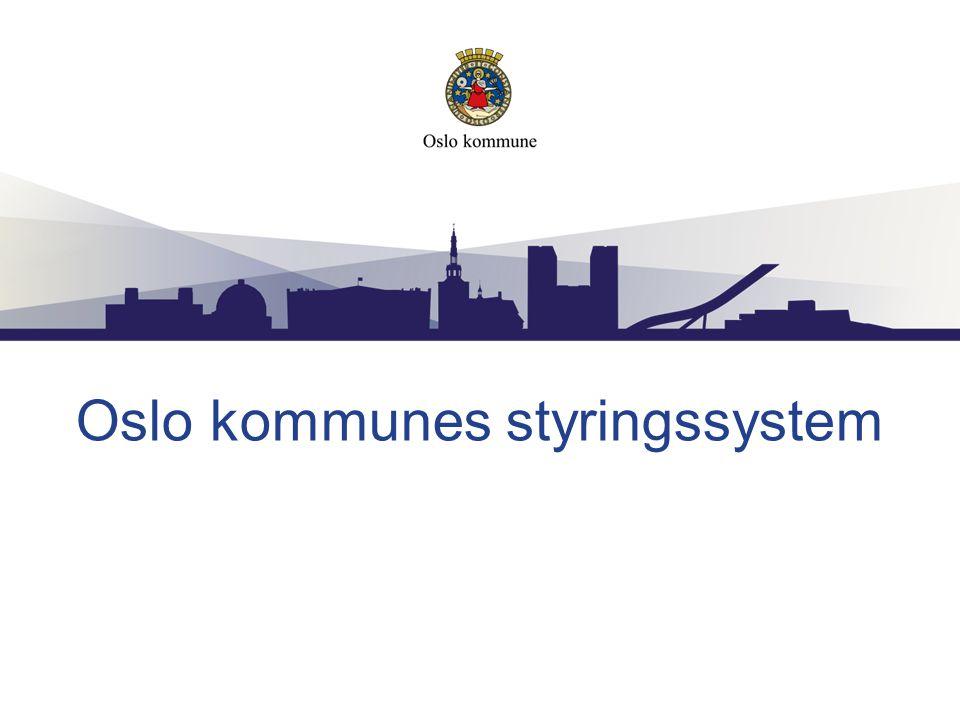 Oslo kommunes styringssystem