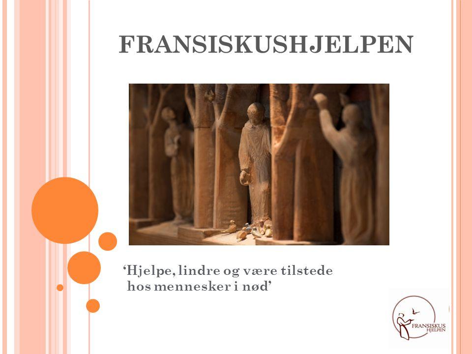 1956: Stiftelsen Fransiskushjelpen ble grunnlagt av Britta Paus.