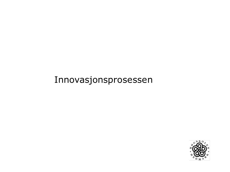Utviklingsarbeid må ses som en innovasjonsprosess (Fullan 2007) Igangsettingsfasen Institusjonalisering/ Vidreføringsfasen Implementering
