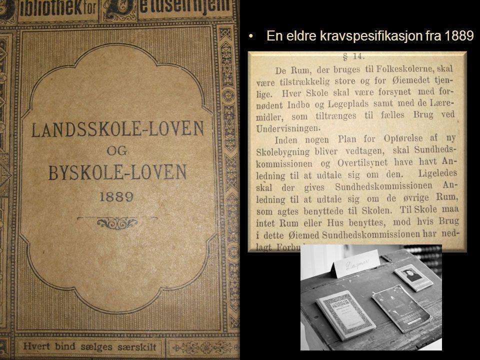 Oslo kommune Boligbygg Oslo KF Omsorgsbygg Oslo KF Undervisningsbygg Oslo KF ://www. fkok.no/ En eldre kravspesifikasjon fra 1889