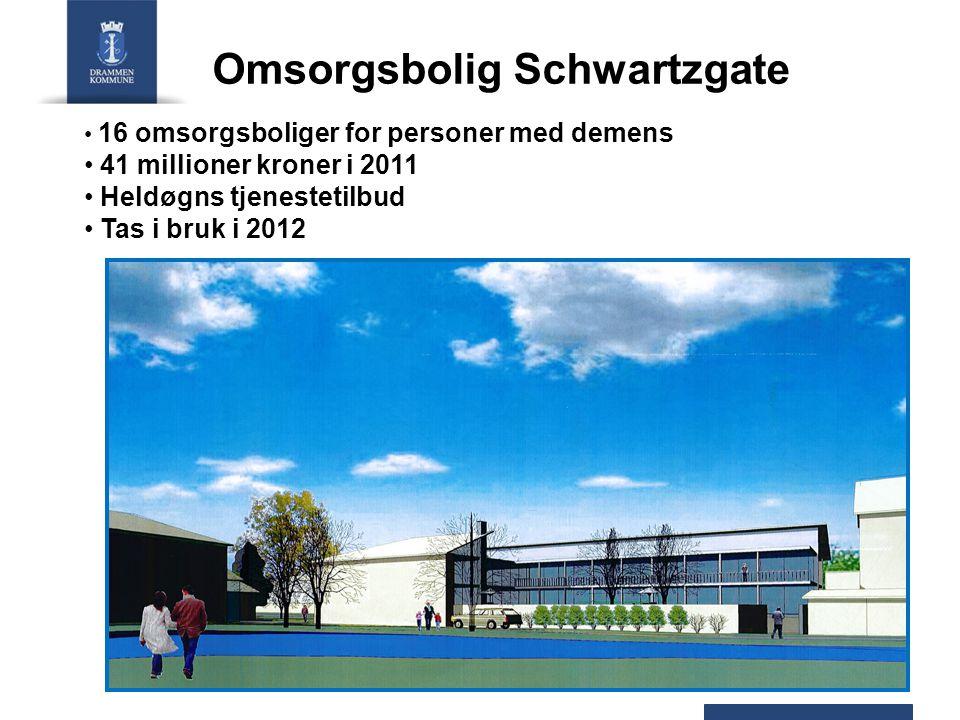 Blentenborg Blentenborg oppgraderes og bygges om 16 leiligheter for funksjonshemmede Ca.