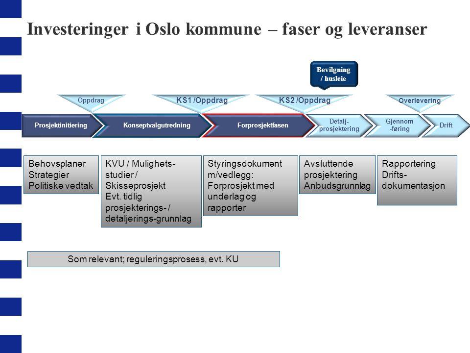 Hierarki av dokumenter 6 Krav til innhold Tips og råd Maler Overordnede prinsipper Roller og ansvar Nivå 1: Nivå 2: Nivå 3: Prinsipper investeringsprosessen Veileder for detaljprosjektering og gjennomføringen 3.