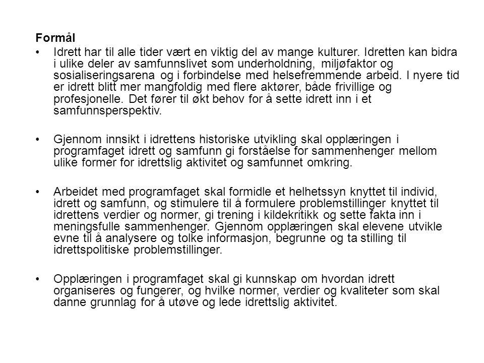 5.og 6. time: Fra doping til antidoping Om Antidopingens historie.