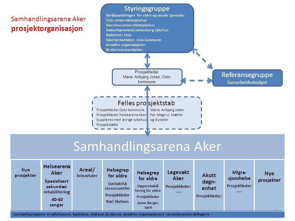 Samhandlingsplasser 2012 Lilleborg sykehjem drifter 20 plasser, øremerket bydelene Grünerløkka, Gamle Oslo, St.