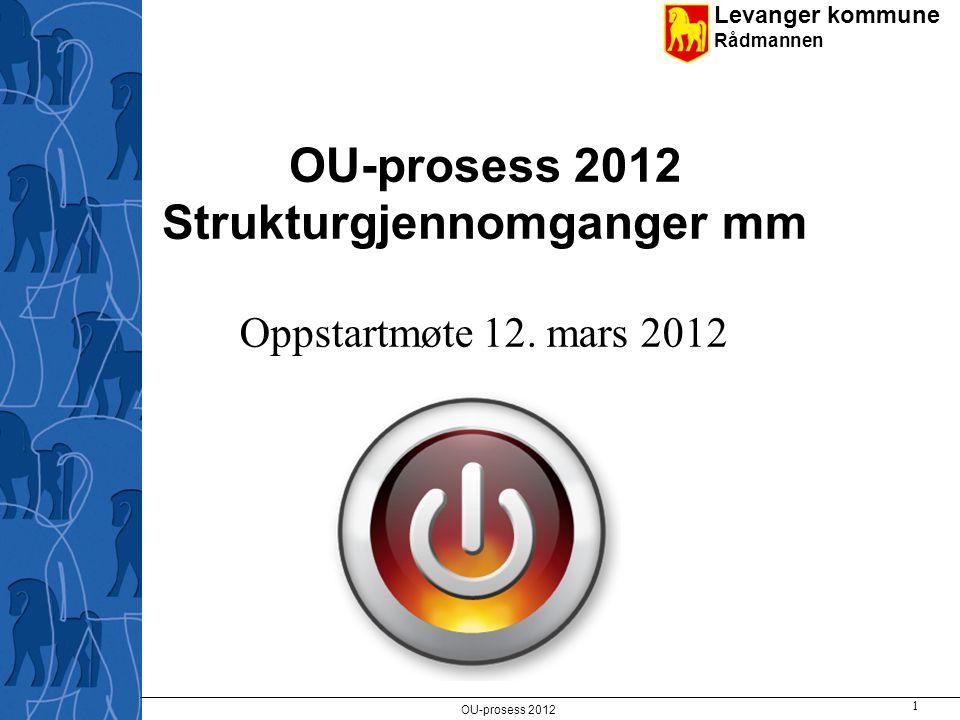 Levanger kommune Rådmannen Driftsrammer øk-plan 2012-2015- forslaget fra rådmannen