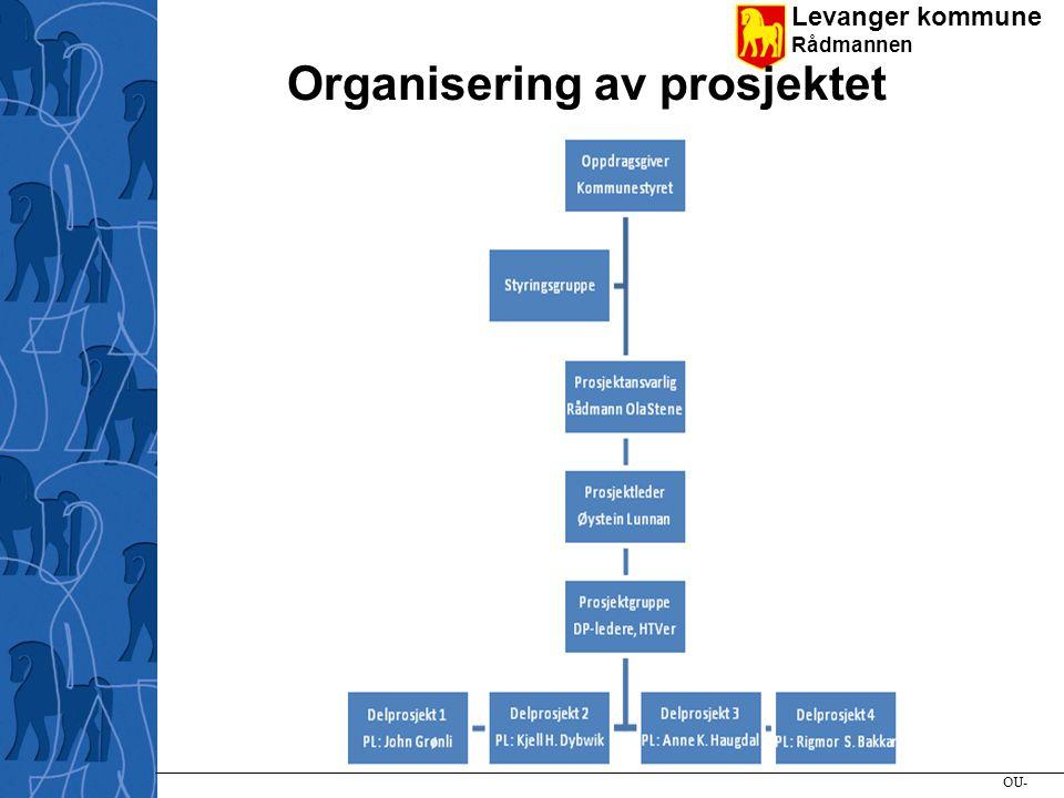 Levanger kommune Rådmannen Vi bruker Innovasjon Norge sin prosjektlederprosess - PLP Bunntekst 8 lenke