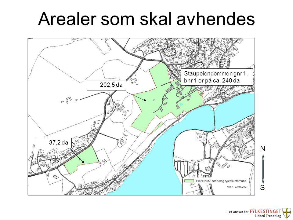 Utbyggingsformål Arealene i nord er egnet som utbyggingsareal som kan betjenes med en atkomst nordfra.