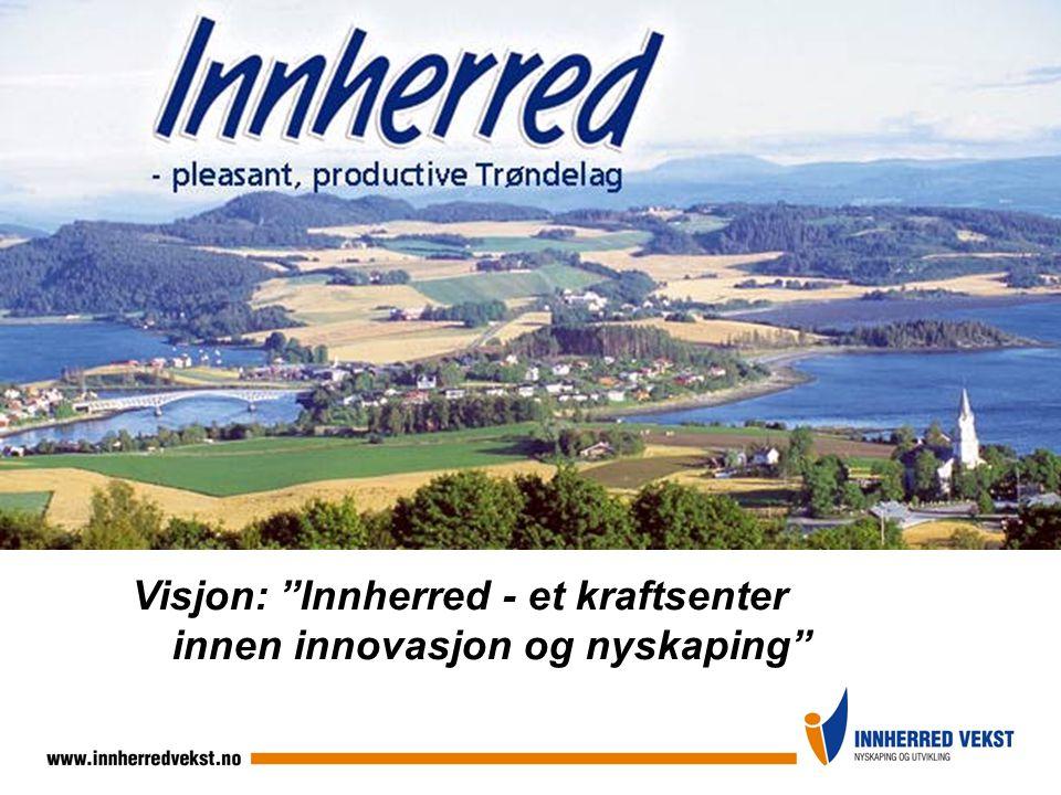 """Visjon: """"Innherred - et kraftsenter innen innovasjon og nyskaping"""""""