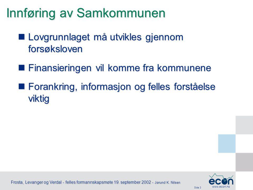 Side 3 Frosta, Levanger og Verdal - felles formannskapsmøte 19.