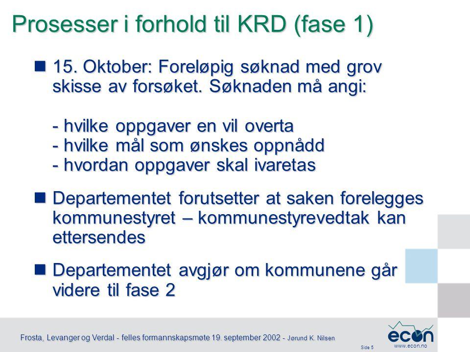 Side 6 Frosta, Levanger og Verdal - felles formannskapsmøte 19.