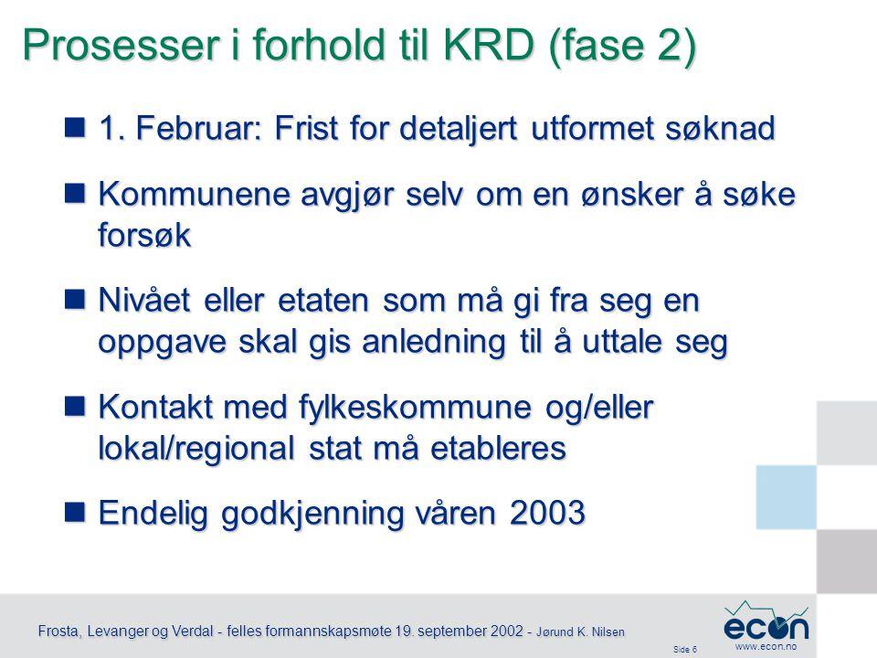 Side 7 Frosta, Levanger og Verdal - felles formannskapsmøte 19.