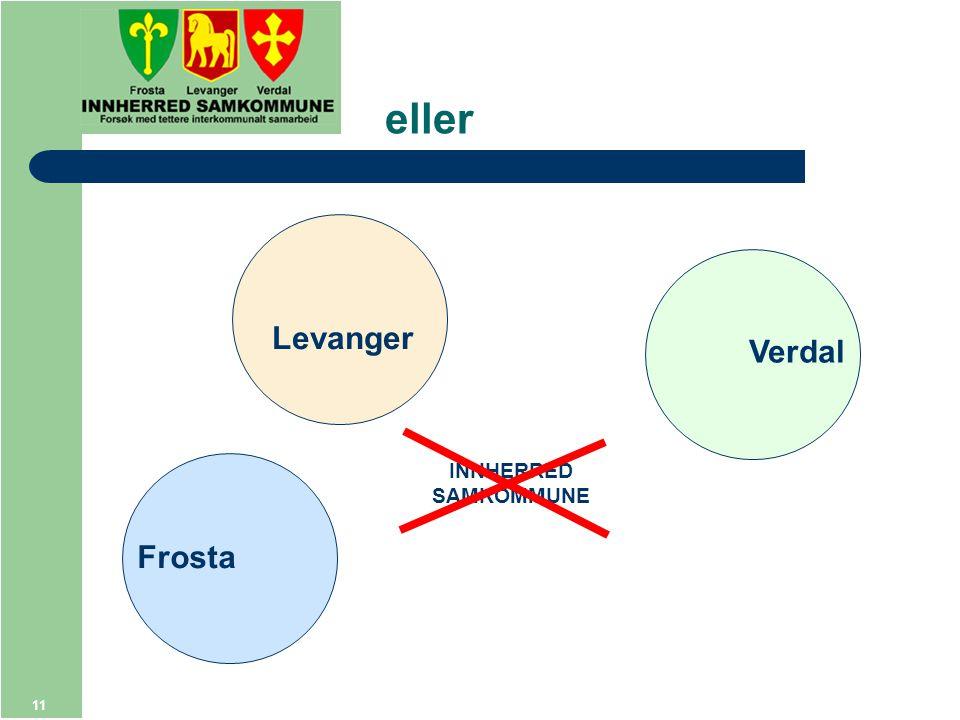 11 eller Frosta Levanger Verdal INNHERRED SAMKOMMUNE
