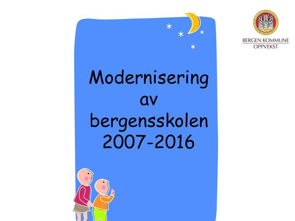 Modernisering av bergensskolen 2007-2016