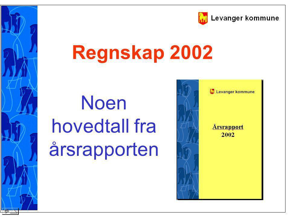 Regnskap 2002 Noen hovedtall fra årsrapporten
