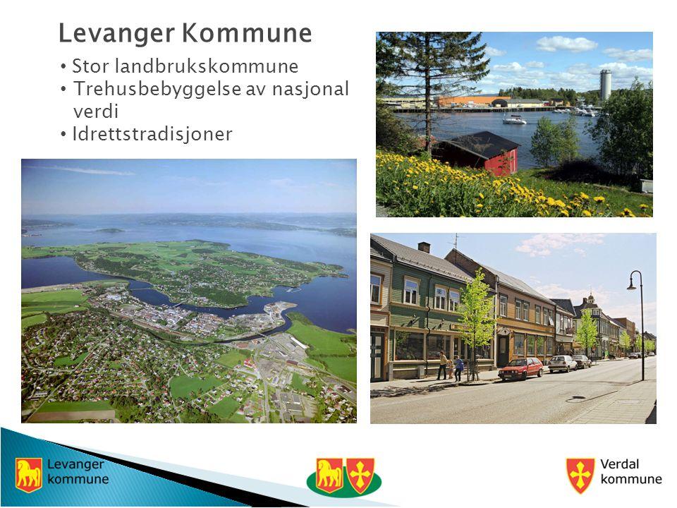 Levanger Kommune Stor landbrukskommune Trehusbebyggelse av nasjonal verdi Idrettstradisjoner