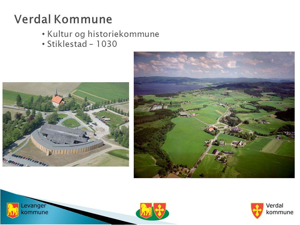 Verdal Kommune Kultur og historiekommune Stiklestad – 1030