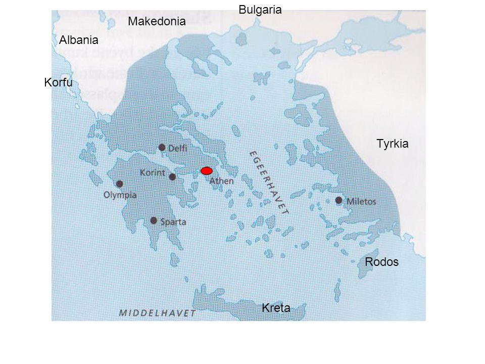 Kreta Tyrkia Korfu Albania Makedonia Bulgaria Rodos