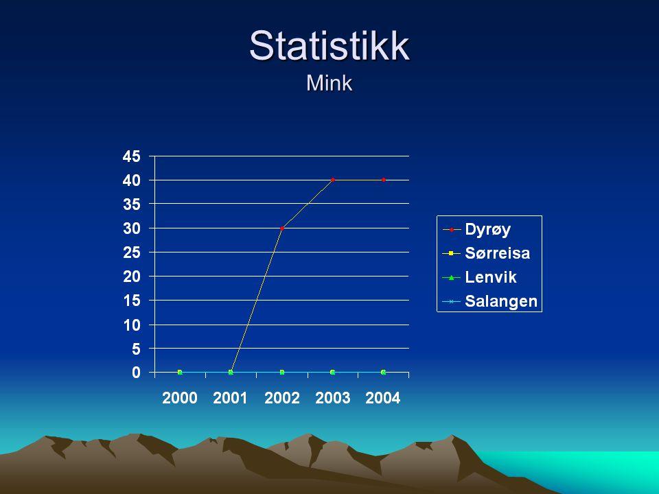 Statistikk Mink
