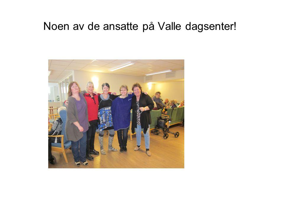 Noen av de ansatte på Valle dagsenter!