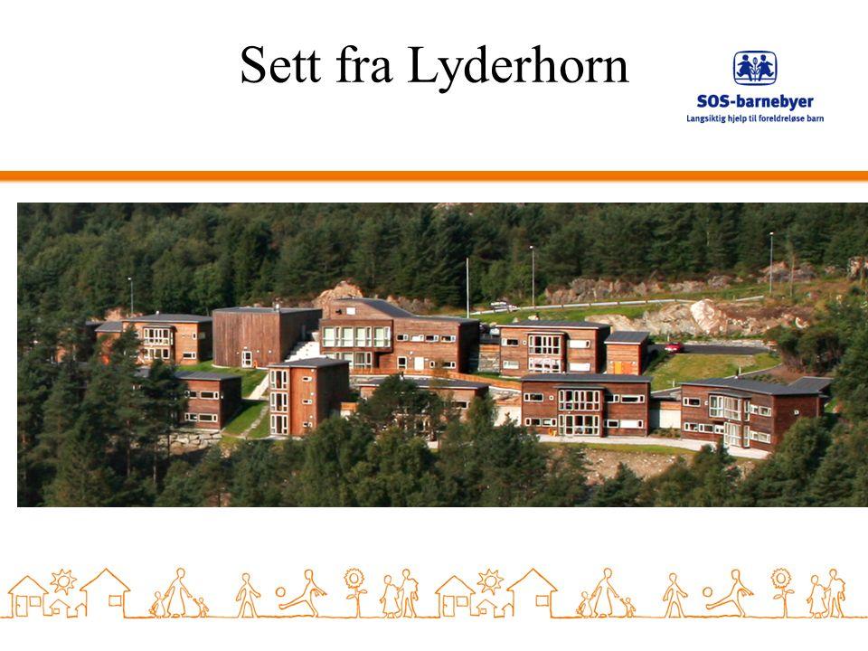 Sett fra Lyderhorn