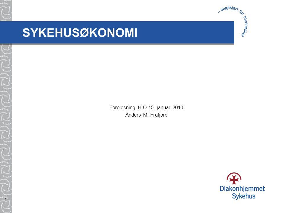 2 Disposisjon 1.Innledning og presentasjon 2. Helse-Norge og Diakonhjemmet 3.