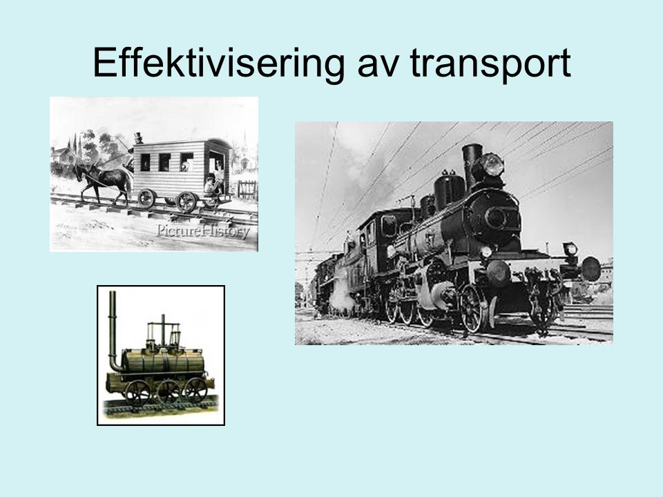 Effektivisering av transport