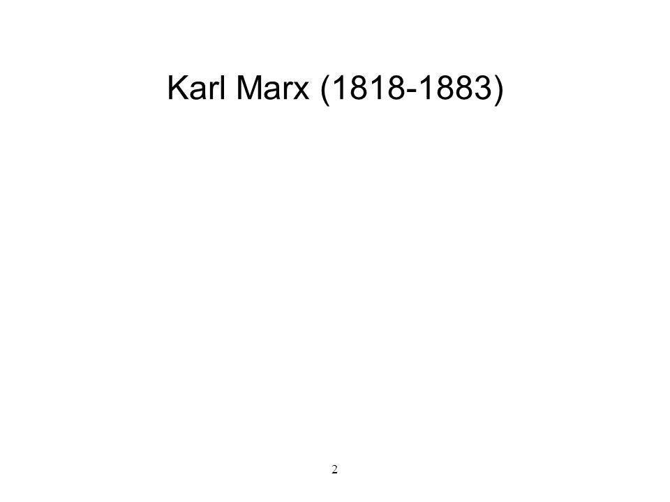 2 Karl Marx (1818-1883)