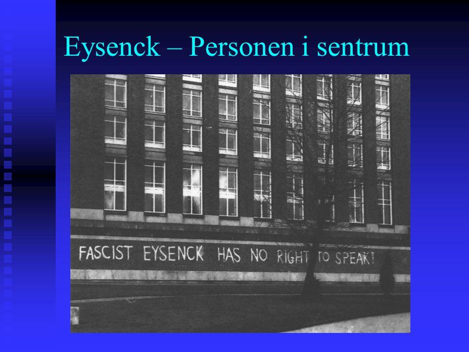 Eysenck – Personen i sentrum