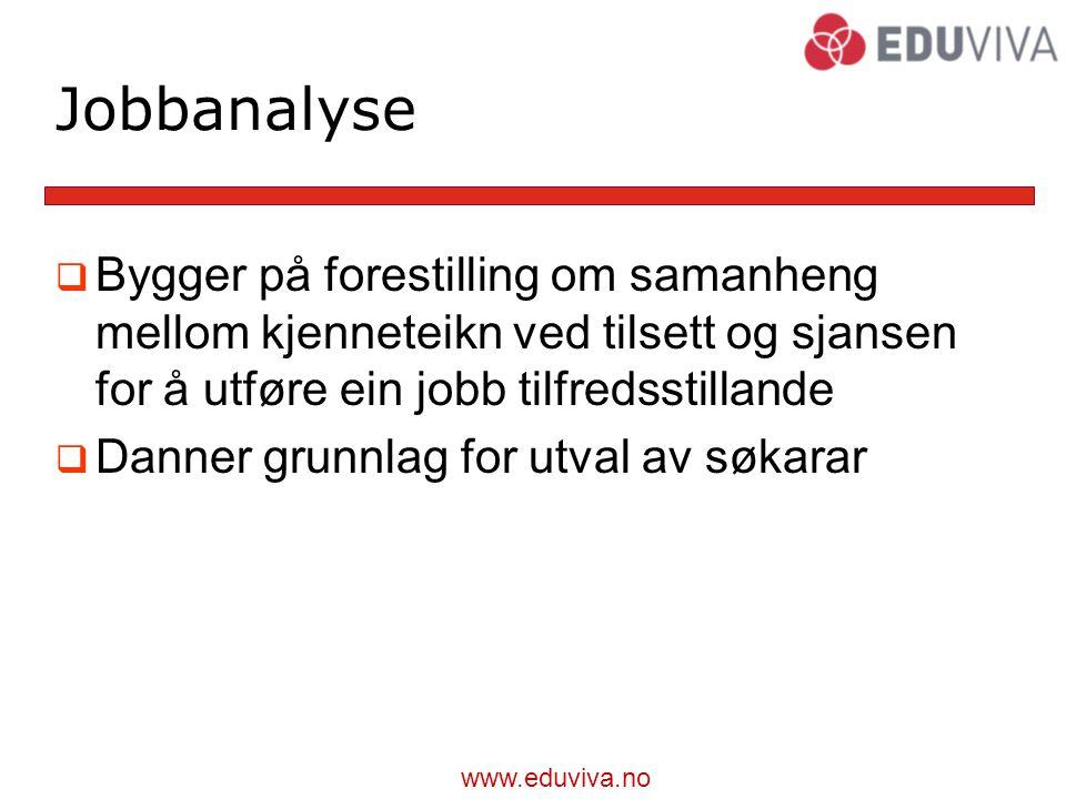www.eduviva.no Rekruttering  Når motivasjon eller læring ikkje strekk til (av ulike grunnar)