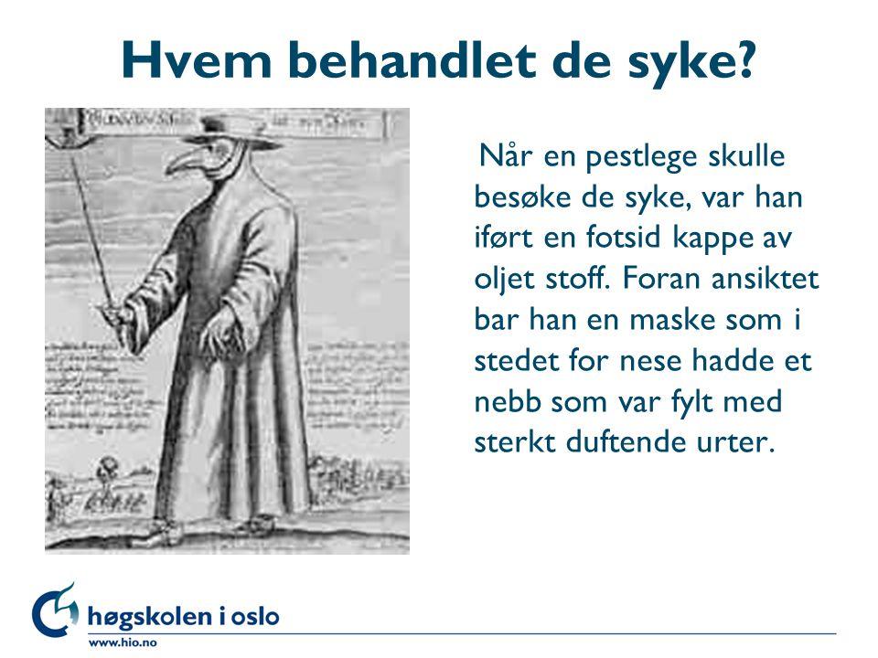 De første spirer til en offentlig helsetjeneste på 1600-tallet l 1603 – Villads Nielsen ble tilsatt som ordinario medico i Bergen l 1672 – første forordning (lov) om medisinsk praksis i Danmark-Norge, inklusiv en forordning om at byene var forsynt med gode og erfarne jordmødre.