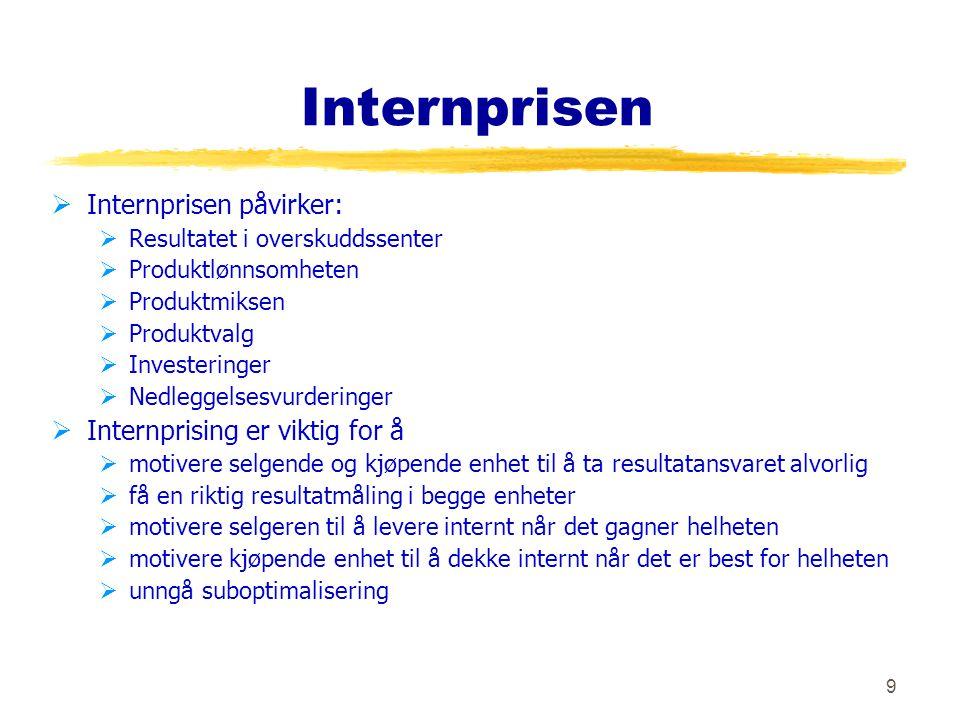 10 Internpris - oppgave