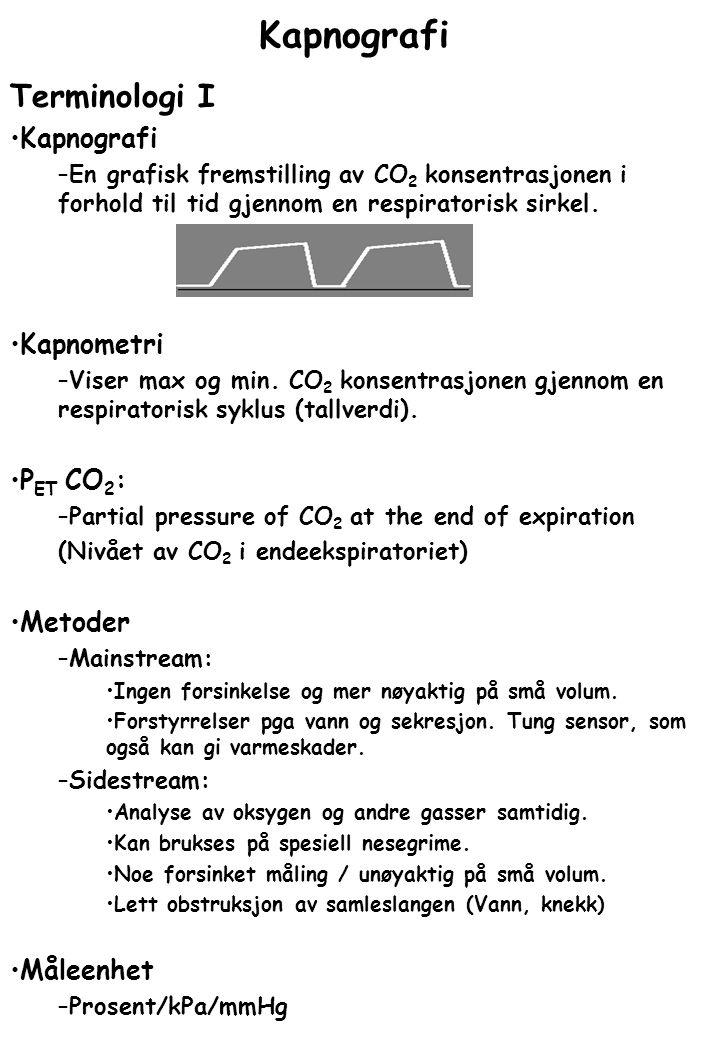 Terminologi II Kurvens ulike faser: Fase 0: –Inpiratorisk fase.
