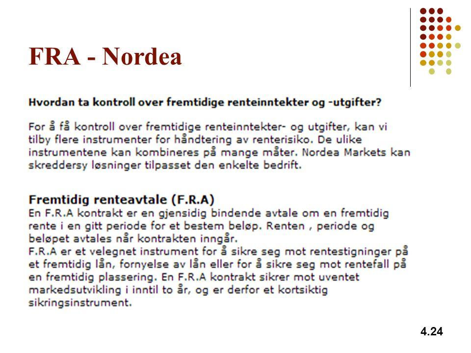 FRA - Nordea 4.24