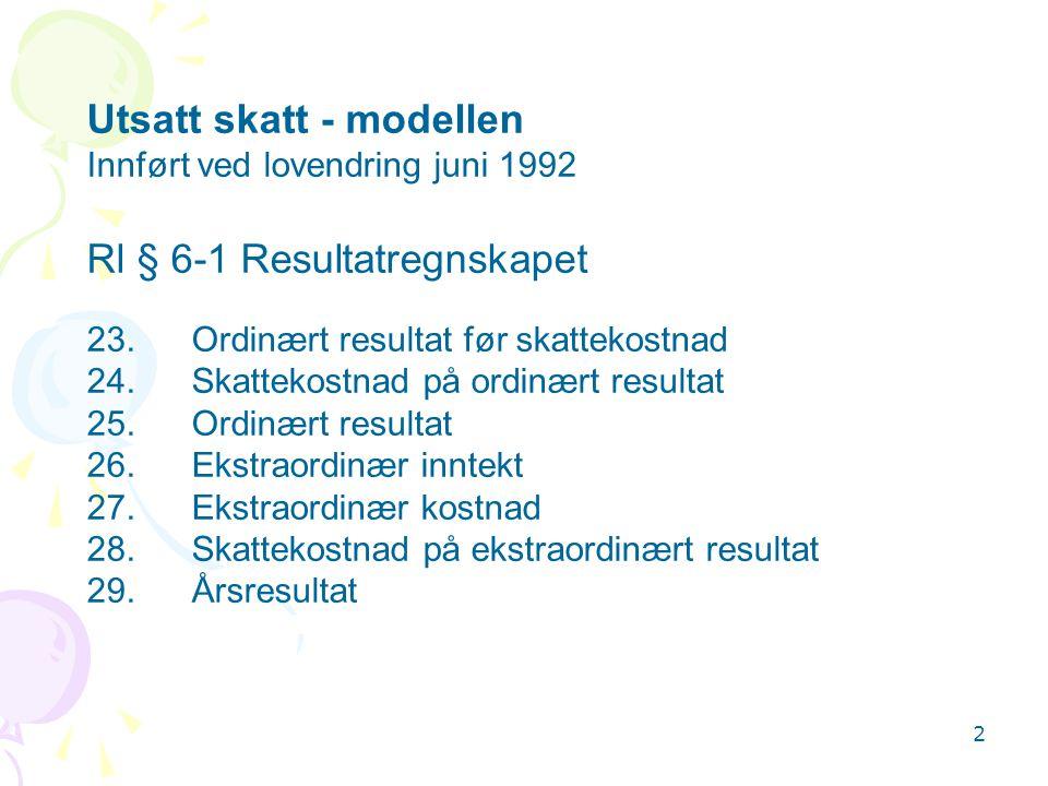 3 Rl § 6-2Balansen EIENDELER A.Anleggsmidler I. Immaterielle eiendeler1.