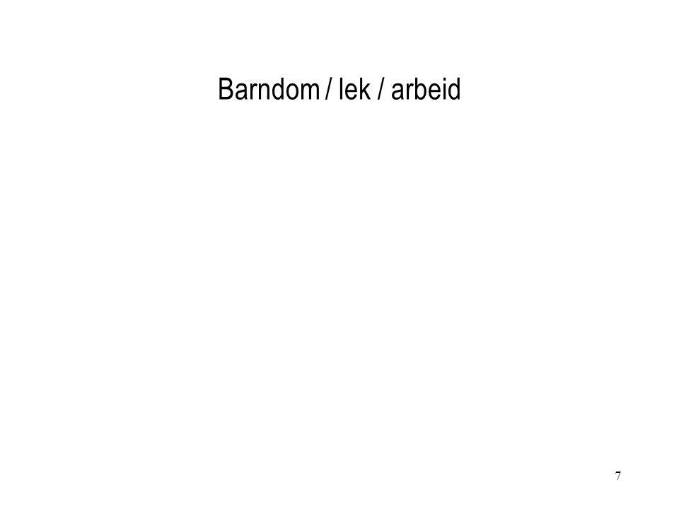 7 Barndom / lek / arbeid