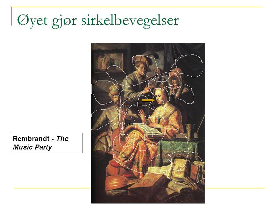 Kirsten Ribu 2007 Øyet gjør sirkelbevegelser Rembrandt - The Music Party
