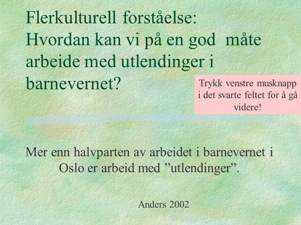 INNVANDRINGSSTOPP FRA 1974 KRITERIER FOR Å KOMME TIL NORGE: l Nordiske borgere l EØS-området (Shengen) l Fagfolk som Norge trenger l Flyktninger, de som får opphold på humanitært grunnlag og asylsøkere l Gjenforening av nære slektninger (mindreårige barn, foreldre til mindreårige, mindreårige søsken, enslige foreldre).