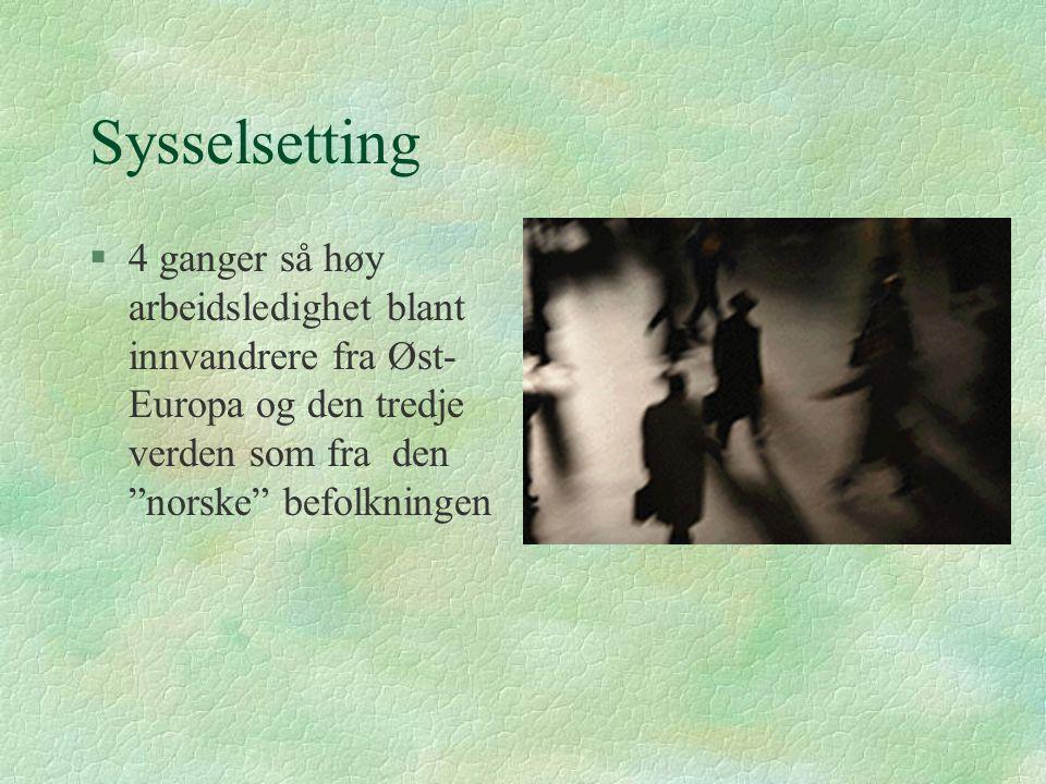 ETNISKE MINORITETER Urbefolkninger: l SAMER Nomader: l SIGØYNERE (INDISKE) l TATERE (ER IKKE EGENTLIG EN ETNISK GRUPPE) HiO avd ØKS Barnevernlinja 2002