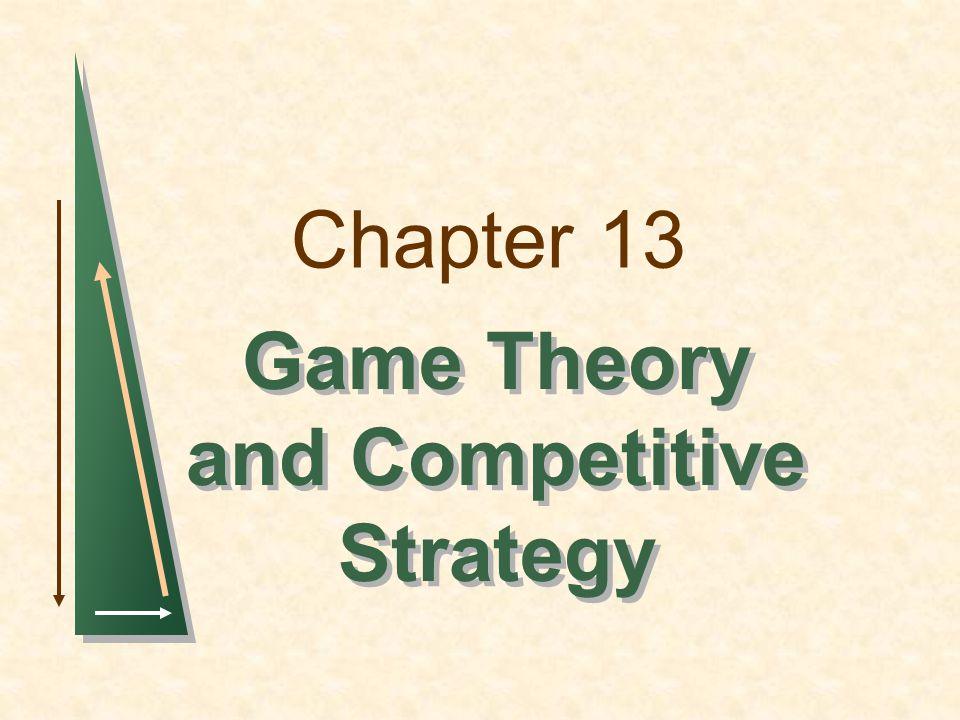 Slide 12 Maximin strategi Firma 1 Ikke investerInvester Firma 2 0, 0-10, 10 20, 10-100, 0 Ikke invester Invester