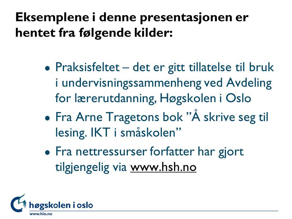 Kunnskapsløftet – kompetansemål Etter 2.