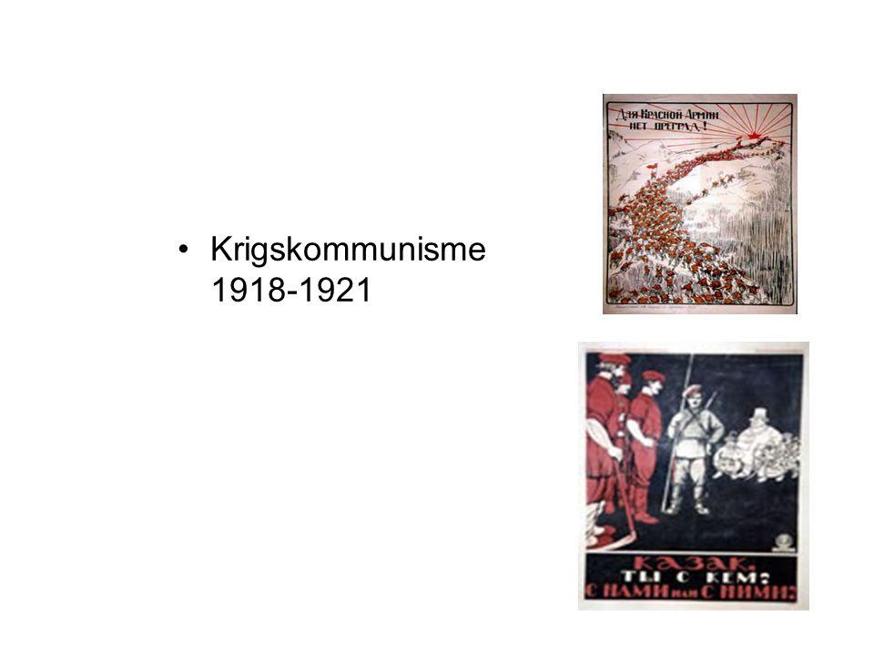 Krigskommunisme 1918-1921