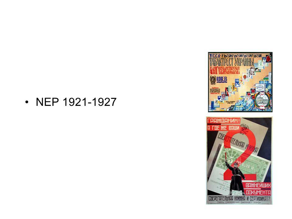 NEP 1921-1927