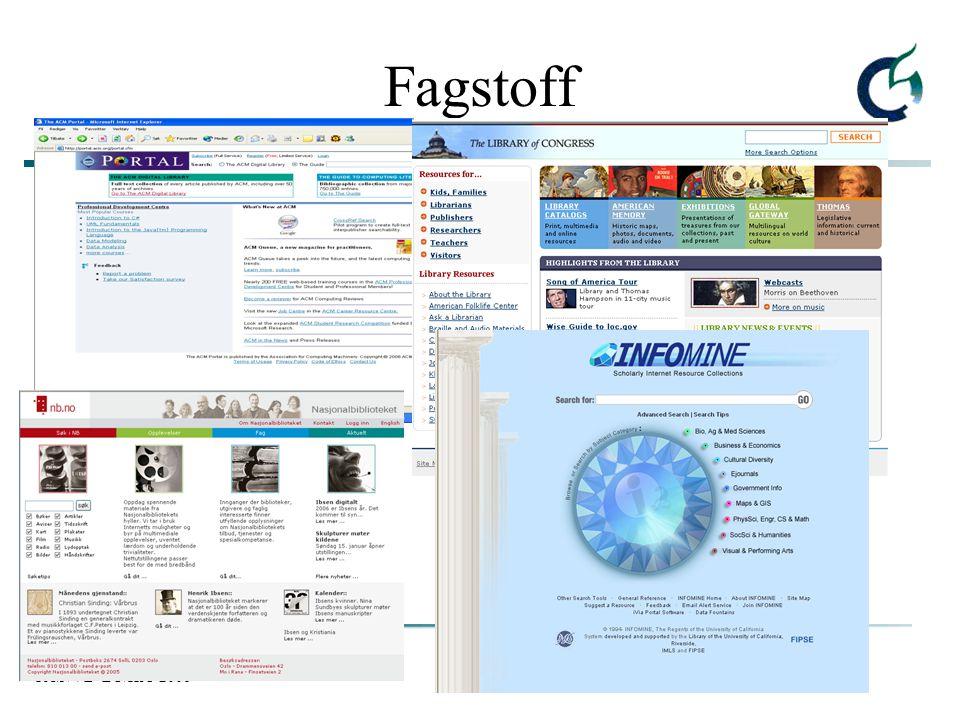 FAØ/VB LU/HiO 2006 Fagstoff